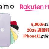 通話料無料で20GB使えてiPhone11が5,000円以内で使えちゃう時代がくるかも。